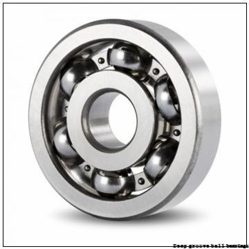 15 mm x 24 mm x 7 mm  skf W 63802-2Z Deep groove ball bearings