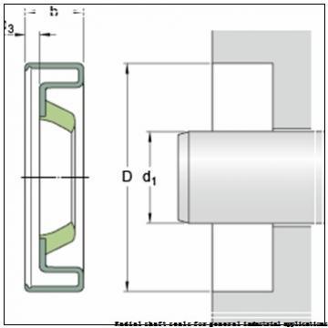 skf 44X68X8 CRW1 V Radial shaft seals for general industrial applications