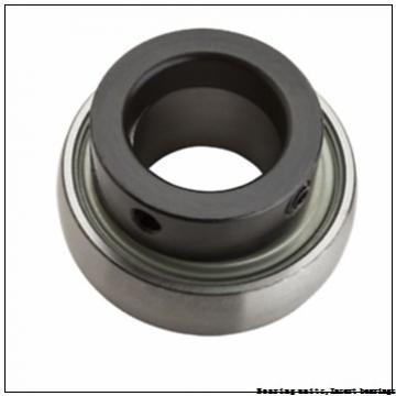 40 mm x 80 mm x 49.2 mm  SNR ZUC208FG Bearing units,Insert bearings