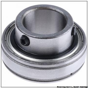 36.51 mm x 72 mm x 42.9 mm  SNR ZUC207-23FG Bearing units,Insert bearings