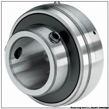 57.15 mm x 110 mm x 53.7 mm  SNR US212-36G2 Bearing units,Insert bearings