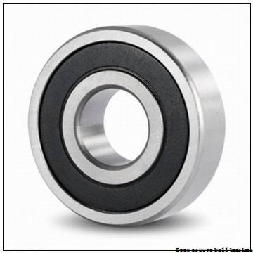 9 mm x 30 mm x 10 mm  skf W 639-2RS1 Deep groove ball bearings