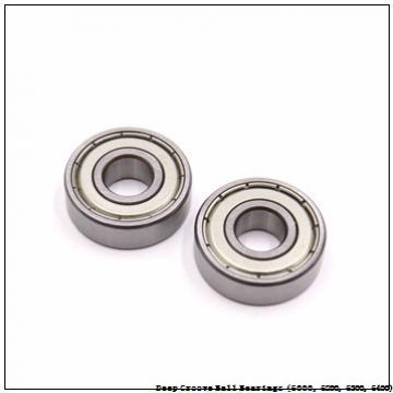 25 mm x 62 mm x 17 mm  timken 6305-Z Deep Groove Ball Bearings (6000, 6200, 6300, 6400)