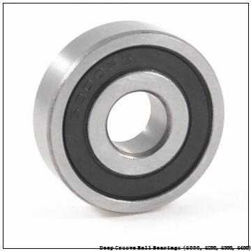 timken 6303-2RZ-NR Deep Groove Ball Bearings (6000, 6200, 6300, 6400)