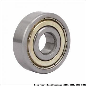 timken 6208-ZZ-NR Deep Groove Ball Bearings (6000, 6200, 6300, 6400)