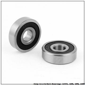 25 mm x 62 mm x 17 mm  timken 6305-RS Deep Groove Ball Bearings (6000, 6200, 6300, 6400)