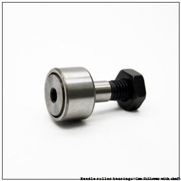 NTN NUKR90H/3AS Needle roller bearings-Cam follower with shaft