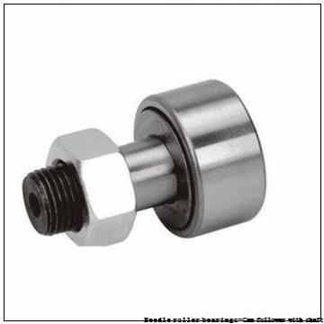 NTN NUKR80H/3AS Needle roller bearings-Cam follower with shaft