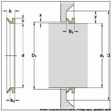skf 14 VA R Power transmission seals,V-ring seals, globally valid