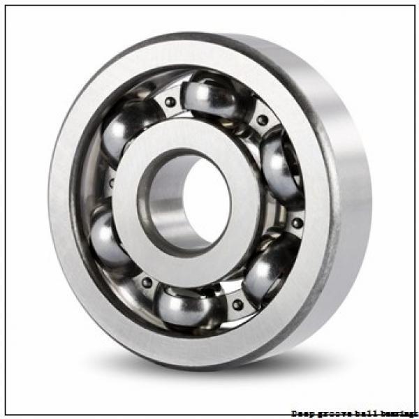 30 mm x 62 mm x 16 mm  skf 6206 N Deep groove ball bearings #3 image