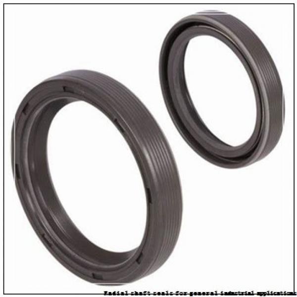 skf 40X85X8 HMS5 V Radial shaft seals for general industrial applications #1 image