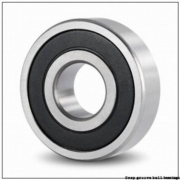 30 mm x 72 mm x 19 mm  skf 6306-2Z Deep groove ball bearings #1 image