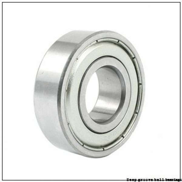 2,38 mm x 4,762 mm x 2,38 mm  skf D/W R133-2ZS Deep groove ball bearings #1 image