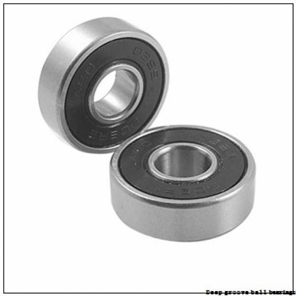 4,762 mm x 9,525 mm x 10,719 mm  skf D/W R166 R Deep groove ball bearings #2 image