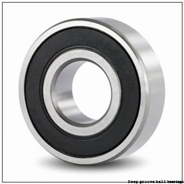 4,762 mm x 9,525 mm x 10,719 mm  skf D/W R166 R Deep groove ball bearings #3 image