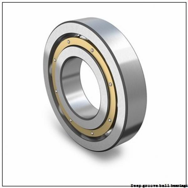4.762 mm x 15.875 mm x 4.978 mm  skf D/W R3A-2RZ Deep groove ball bearings #1 image