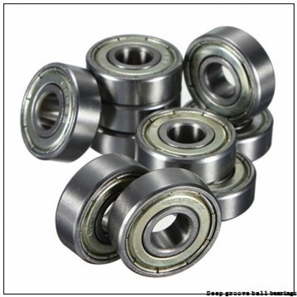 7 mm x 19 mm x 6 mm  skf W 607-2Z Deep groove ball bearings #2 image