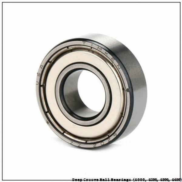 timken 6211-ZZ-NR-C3 Deep Groove Ball Bearings (6000, 6200, 6300, 6400) #3 image