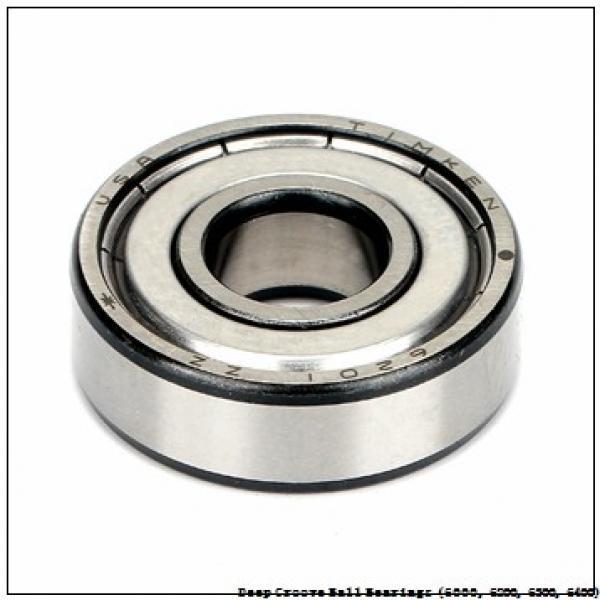 20 mm x 52 mm x 15 mm  timken 6304-2RS-NR Deep Groove Ball Bearings (6000, 6200, 6300, 6400) #2 image