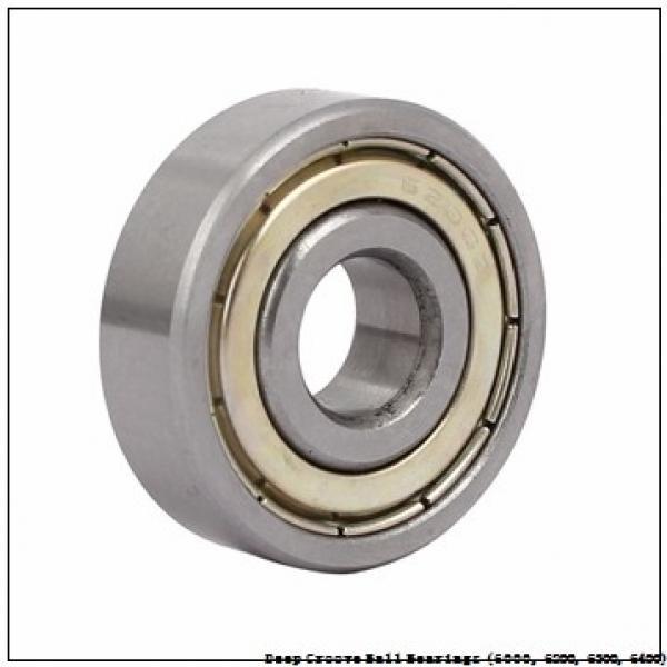 25 mm x 62 mm x 17 mm  timken 6305-Z Deep Groove Ball Bearings (6000, 6200, 6300, 6400) #3 image