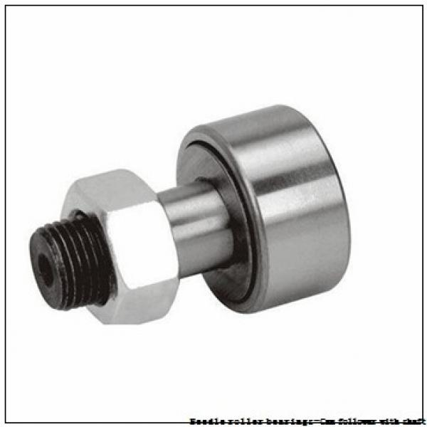 NTN NUKR80X/3AS Needle roller bearings-Cam follower with shaft #3 image