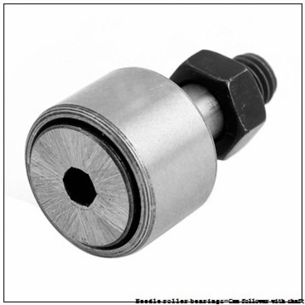 NTN NUKR80XH/3AS Needle roller bearings-Cam follower with shaft #2 image